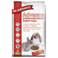 Mr Johnson's Advance Junior and Dwarf Rabbit Food 1.5kg big image