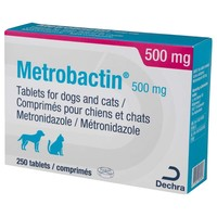 Metrobactin 500mg Tablets for Dogs and Cats big image