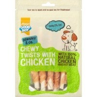 Good Boy Pawsley & Co Chewy Twists with Chicken 90g big image