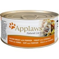 Applaws Adult Cat Food in Broth Tins (Chicken Breast with Pumpkin) big image