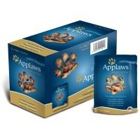 Applaws Adult Cat Food in Broth 12 x 70g Pouches (Tuna with Seabream) big image