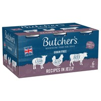 Butchers Grain Free Meaty Recipes in Jelly Dog Food big image