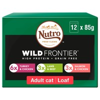 Nutro Wild Frontier Adult Cat Wet Food Pouches (Meat Selection) big image