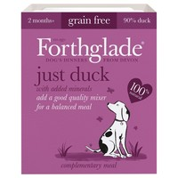Forthglade Just Duck Grain Free Dog Food (18 x 395g) big image