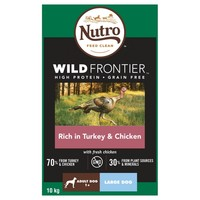Nutro Wild Frontier Adult Large Dog Dry Food (Rich in Turkey & Chicken) 10kg big image