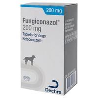 Fungiconazol 200mg Tablets for Dogs big image