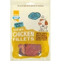 Good Boy Pawsley & Co Chewy Chicken Fillets 80g big image