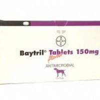 Baytril 150mg Flavour Tablet big image