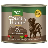 Natures Menu Country Hunter Dog Food Cans (Rabbit) big image