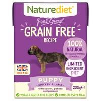 Naturediet Feel Good Grain Free Wet Food for Puppies (Chicken & Lamb) big image