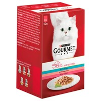 Purina Gourmet Mon Petit Wet Cat Food Pouches (Tuna, Salmon & Trout) big image