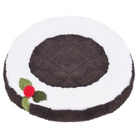 Rosewood Cupid & Comet Christmas Pudding Snuggle Pad for Small Animals big image