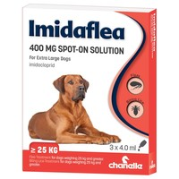 Imidaflea Spot-On Solution 400mg for Extra Large Dogs (3 Pipettes) big image