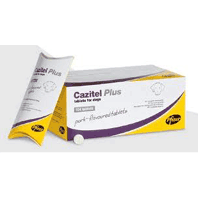 Cazitel Plus Dog Worming Tablets big image