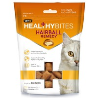 VetIQ Healthy Bites Hairball Remedy Treats For Cats 65g big image