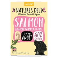 Natures Deli Adult Wet Dog Food Trays (Salmon) big image