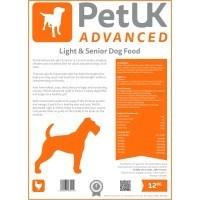PetUK Advanced Light & Senior Dog Food (Chicken) big image