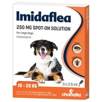 Imidaflea Spot-On Solution 250mg for Large Dogs (3 Pipettes) big image