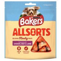Bakers Allsorts Dog Treats 98g big image