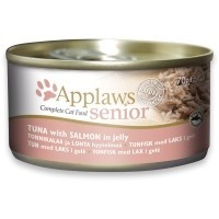 Applaws Senior Cat Food in Jelly 24 x 70g Tins (Tuna with Salmon) big image
