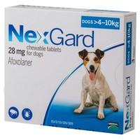 Nexgard 28mg Chewable Tablets for Medium Dogs big image