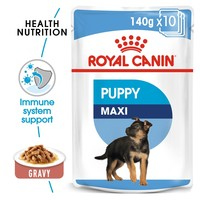 Royal Canin Maxi Puppy Wet Dog Food in Gravy big image