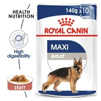 Royal Canin Maxi Adult Wet Dog Food In Gravy big image