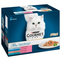 Purina Gourmet Perle Adult Cat Food Pouches (Ocean Delicacies) big image