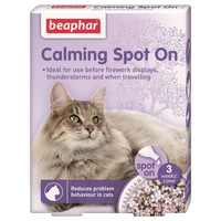 Beaphar Calming Spot On for Cats (3 Pipettes) big image