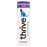 Thrive 100% Natural Cat Treats (Chicken Liver) big image