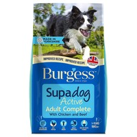 Burgess Supadog Active Dog Food (Chicken and Beef) 15kg big image