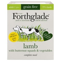 Forthglade Complete Meal Grain Free Dog Food (Lamb with Butternut Squash & Veg) big image