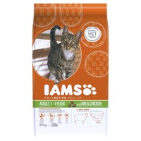 Iams Proactive Health Adult Cat Food (Lamb & Chicken) big image
