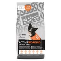 Burns Active Working Dog Food (Chicken & Rice) 12kg big image