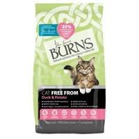 Burns Free From Cat Food (Duck & Potato) big image