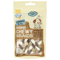 Good Boy Pawsley & Co Mini Chewy Braids (Pack of 4) big image