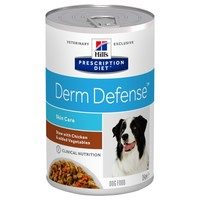 Hills Prescription Diet Derm Defense Tins for Dogs (Stew with Chicken & Vegetables) big image