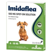 Imidaflea Spot-On Solution 100mg for Medium Dogs (3 Pipettes) big image