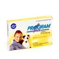 Program Plus Tablets 230mg Yellow - Medium Dogs big image