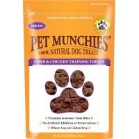 Pet Munchies Liver & Chicken Training Treats for Dogs big image