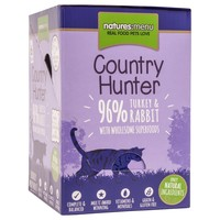 Natures Menu Country Hunter Cat Food 6 x 85g Pouches (Turkey and Rabbit)  big image