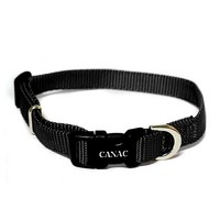 Canac Adjustable Dog Collar Black big image