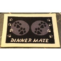 Pet Rebellion Mini Dinner Mate Black 30 x 40cm big image