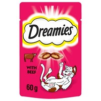 Dreamies Flavoured Cat Treats with Beef big image
