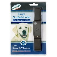 Pettags No Bark Dog Collar - Large big image