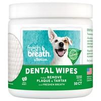 TropiClean Fresh Breath Dental Wipes (50 Pack) big image