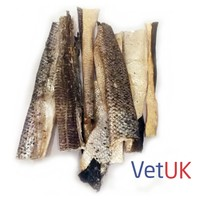 VetUK Salmon Skin Chews for Dogs 100g big image