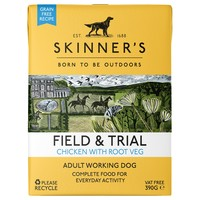 Skinners Field and Trial Adult Wet Dog Food (Chicken & Root Veg) big image