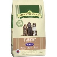 James Wellbeloved Senior Dog Turkey and Rice big image
