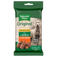 Natures Menu Original Real Meaty Treats for Dogs 60g (Lamb and Chicken) big image